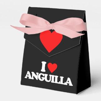 I LOVE ANGUILLA FAVOR BOXES