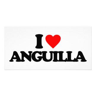 I LOVE ANGUILLA PICTURE CARD