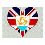 I Love Anguilla Postcard