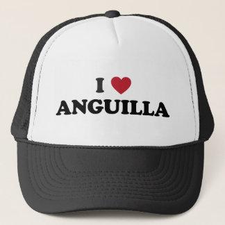 I Love Anguilla Trucker Hat