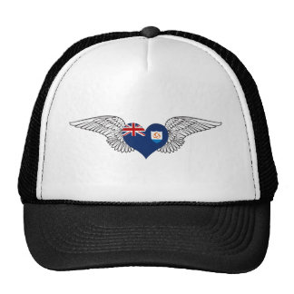 I Love Anguilla -wings Hat