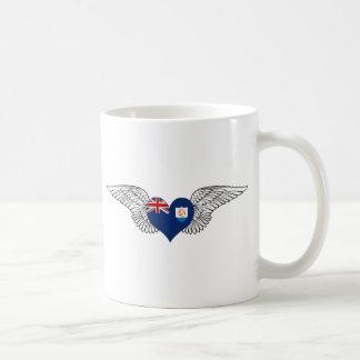 I Love Anguilla -wings Mug