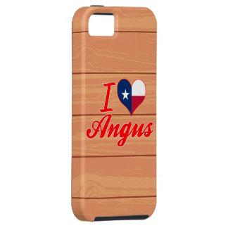 I Love Angus, Texas iPhone 5 Covers