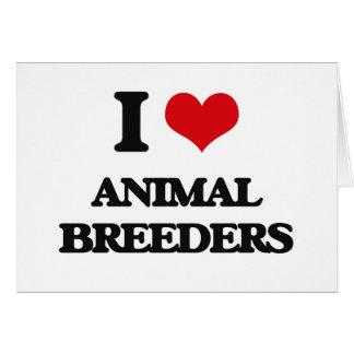 I love Animal Breeders Cards