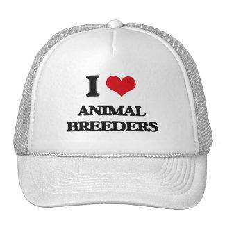 I love Animal Breeders Hats