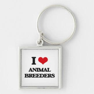 I love Animal Breeders Keychains