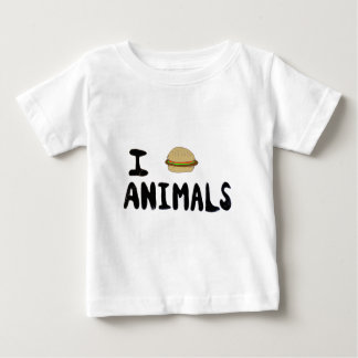 I Love Animals Baby T-Shirt