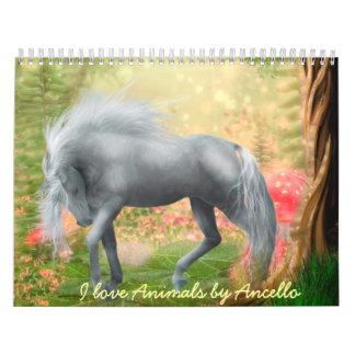 i love animals wall calendars