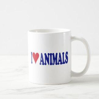 I Love Animals Coffee Mug