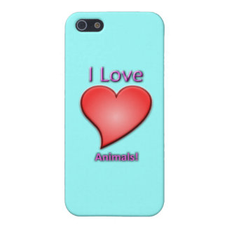 I Love Animals! Cover For iPhone SE/5/5s