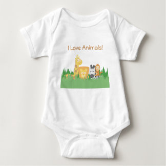 I Love Animals, Cute and Colourful, for Kids T Shirt