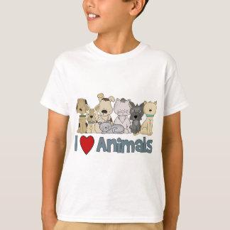 I Love Animals T-Shirt