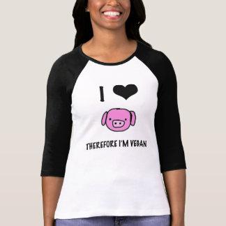 I love animals tee shirt