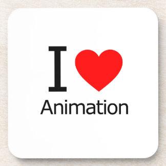 I Love Animation Coasters