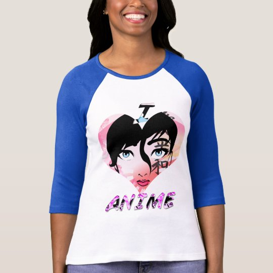I Love Anime T-Shirt