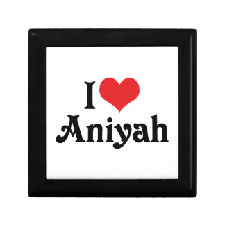 I Love Aniyah Jewelry Box