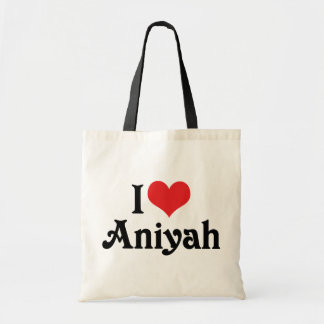 I Love Aniyah Tote Bag