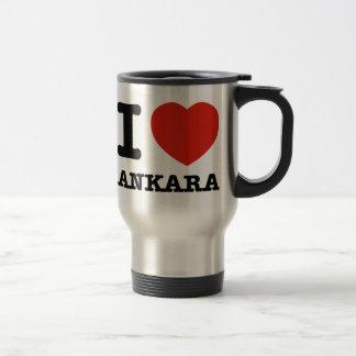 I Love Ankara 15 Oz Stainless Steel Travel Mug