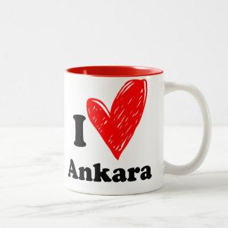 I love Ankara Two-Tone Coffee Mug