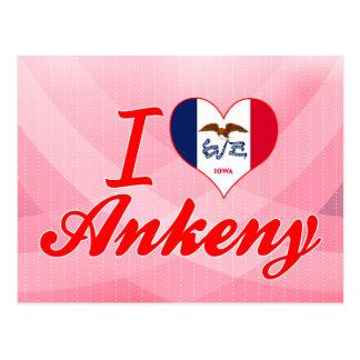 I Love Ankeny, Iowa Postcard