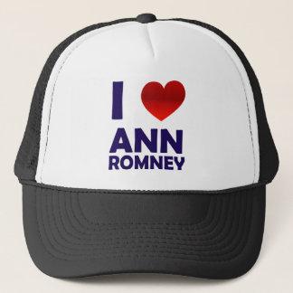 I Love Ann Romney Trucker Hat