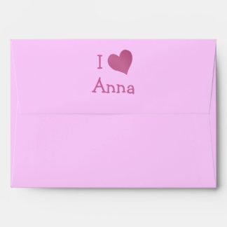 I Love Anna Envelope
