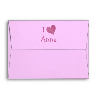 I Love Anna Envelopes