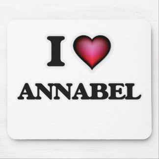 I Love Annabel Mouse Pad