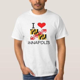 I Love Annapolis Maryland T-Shirt