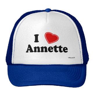 I Love Annette Mesh Hat