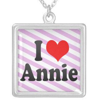 I love Annie Custom Necklace