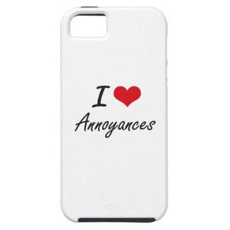 I Love Annoyances Artistic Design iPhone 5 Cases