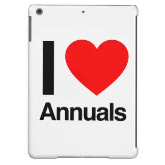 i love annuals iPad air case