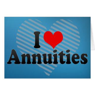 I Love Annuities Card