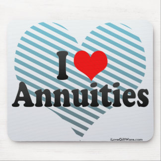 I Love Annuities Mouse Pad