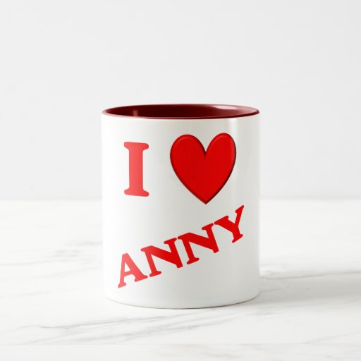 I Love Anny Mug
