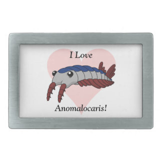 I Love Anomalocaris! Belt Buckle