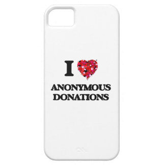 I Love Anonymous Donations iPhone 5 Cover