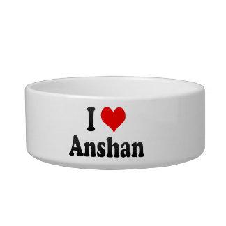 I Love Anshan, China Cat Bowl