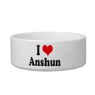 I Love Anshun, China Cat Water Bowl