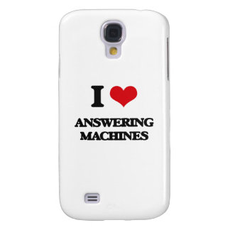 I Love Answering Machines Samsung Galaxy S4 Cover