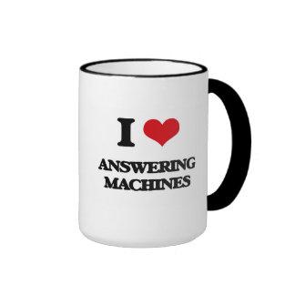 I Love Answering Machines Mug