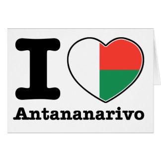 I love Antananarivo Card