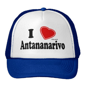 I Love Antananarivo Mesh Hat