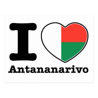 I love Antananarivo Postcard