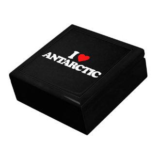 I LOVE ANTARCTIC JEWELRY BOXES