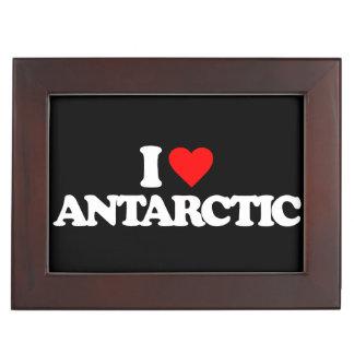 I LOVE ANTARCTIC KEEPSAKE BOXES