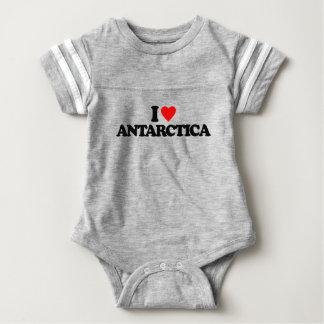I LOVE ANTARCTICA BABY BODYSUIT
