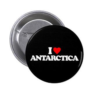I LOVE ANTARCTICA BUTTONS