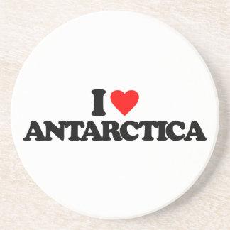 I LOVE ANTARCTICA COASTER